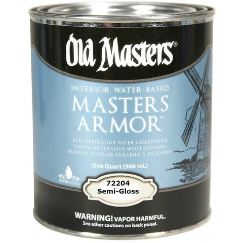 Old Masters 72204 Master Armor, Semi-Gloss, 1 Quart