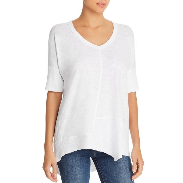 Wilt Womens Top Cotton V-Neck. Opens flyout.