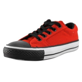 Converse ox fire Youth EW Round Toe Canvas Red Sneakers