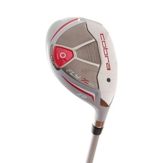 New Cobra Ladies Fly-Z XL (Red) Hybrid #5 28* Graphite 55g RH +HC