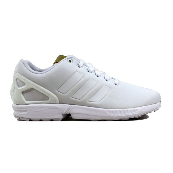 f2343c828 Shop Adidas Women s ZX Flux W White White-Gold BY9216 - On Sale ...