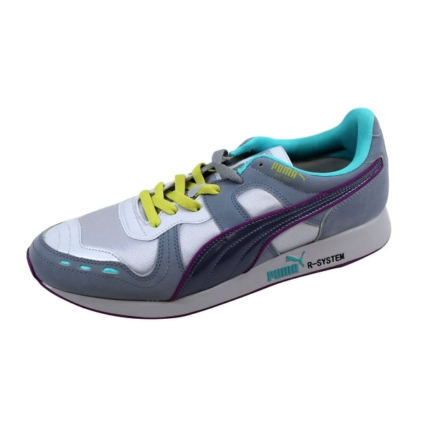 Puma Men's RS100 HL Gray/Tradewinds-Grisaille 356616 02