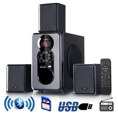 beFree Sound 3.1 CA Surround Sound Bluetooth Home Stereo System