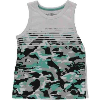 Epic Threads Boys Camouflage Tank Top - S