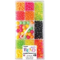 Party Bead Box Kit-Pink/Orange Bubble
