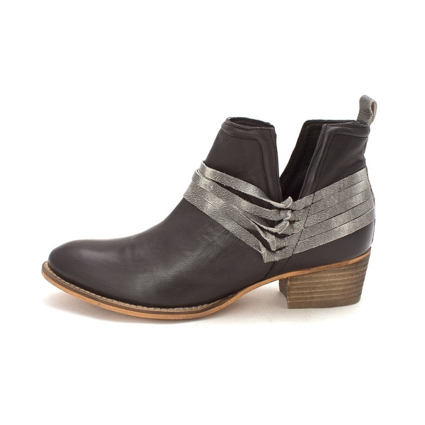 Diba True Womens Sly Fox Leather Almond Toe Ankle Fashion Boots - 11