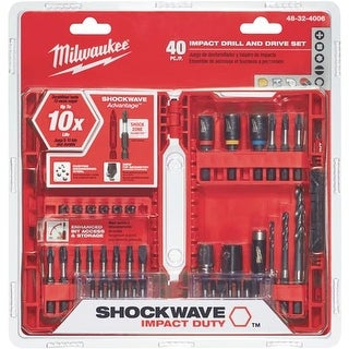 Milwaukee Accessory 40Pc Drill And Drive Set 48-32-4006 Unit: EACH