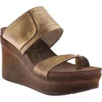 OTBT Women's Brookfield Gold Leather