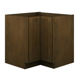 "Sunny Wood BNB36DC-A Branden 34-1/2"" x 36"" Diagonal Corner Base Cabinet with Lazy Susan"