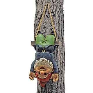 Design Toscano Alfie the Acrobat: Swinging Gnome Statue