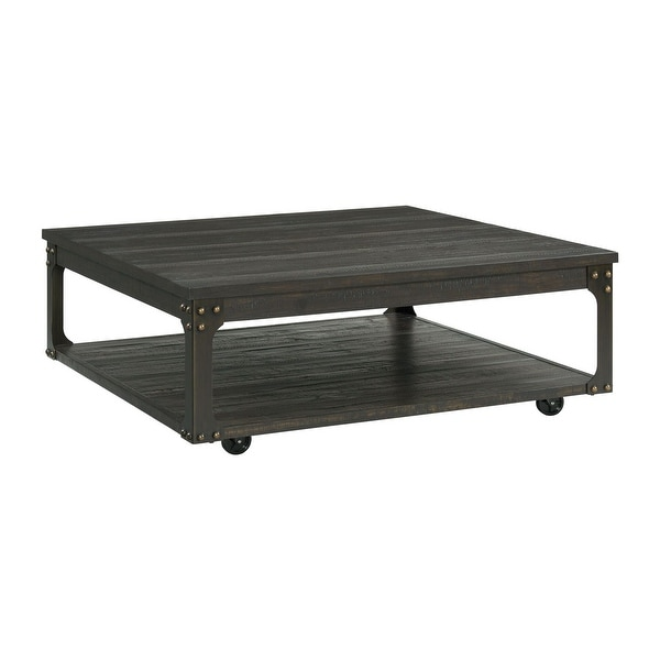 Picket House Furnishings Cera Square Coffee Table. Opens flyout.