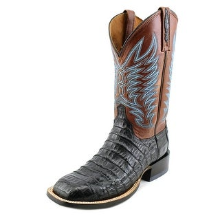 Lucchese Logan Men Square Toe Leather Western Boot