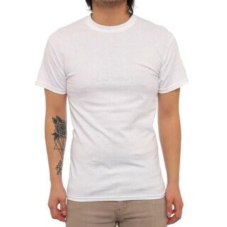 Fila Blank Tennis Short Sleeve Crew Neck Basic e Men Regular Basic T-Shirt
