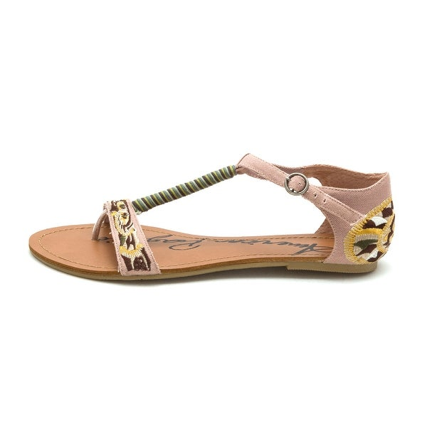 American Rag Womens Lilly Split Toe Casual T-Strap Sandals - 9.5
