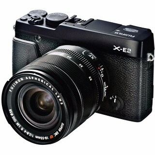 Fujifilm X-E2 Mirrorless Digital Camera with 18-55mm