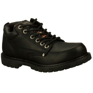 Skechers 77017 BLK Men's COTTONWOOD SR Work