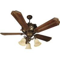 "Craftmade K10767 Toscana 56"" 5 Blade Indoor Ceiling Fan - Blades and Light Kit Included"