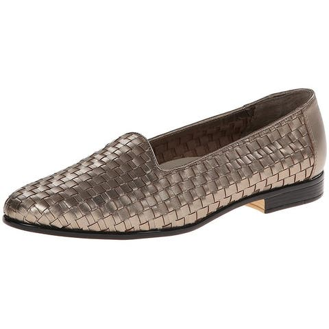 Trotters Womens Liz Leather Closed Toe Loafers