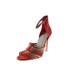 Zara Womens Colorblock Ankle Strap Dress Sandals - 7.5 medium (b,m)