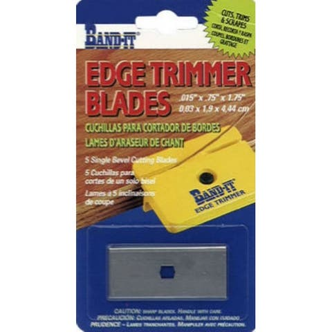 Band-IT 25233 Replacement Edge Timmer Blades, 5-Pack