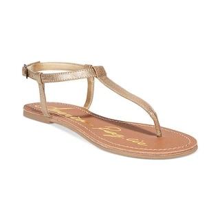 American Rag Krista Thong Sandal (Option: Gold)