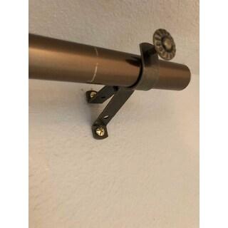 InStyleDesign Tower Adjustable Curtain Rod Set