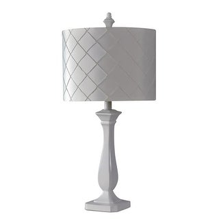 Kangaroo LP35-WT Diamond Lamp, White