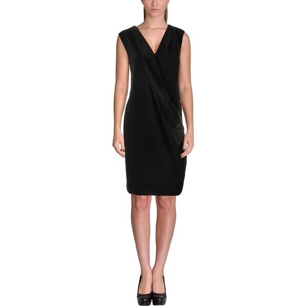 7f14fddab4 Shop DKNY Womens Cocktail Dress Sleeveless Tuxedo - Free Shipping On ...