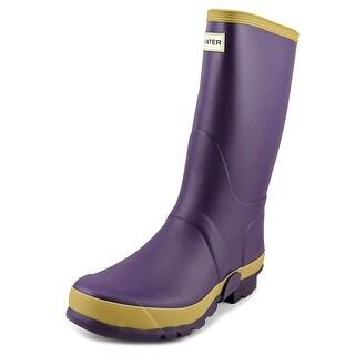 Hunter Fld Tall Rma Gardener Women Round Toe Synthetic Purple Rain Boot