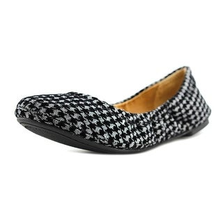 Lucky Brand Emmie W Round Toe Canvas Flats