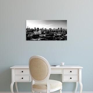 Easy Art Prints Jeff Pica's 'Panorama of NYC II' Premium Canvas Art