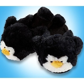 My Pillow Pets Penguin Slippers Small