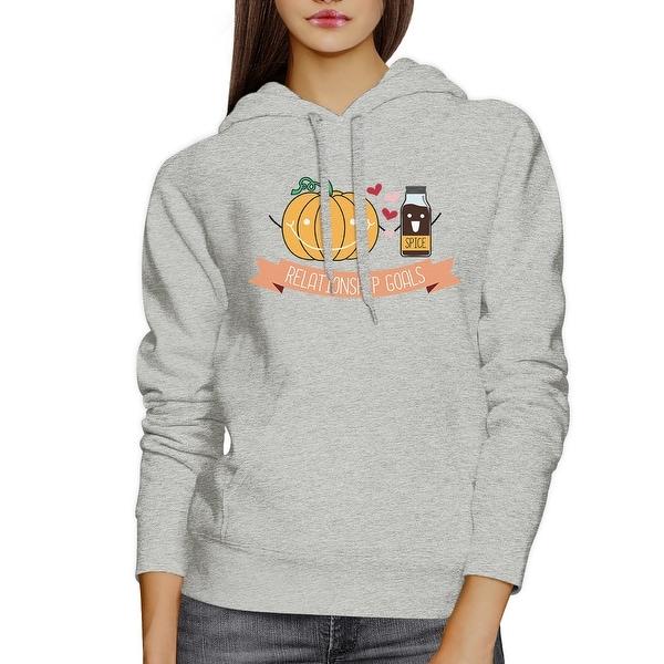 Shop Pumpkin Spice Cute Couple Matching Hoodies Halloween Outfits Ideas Overstock 17427868