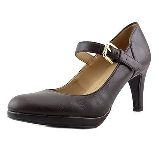 Naturalizer Pascal Round Toe Synthetic Mary Janes|https://ak1.ostkcdn.com/images/products/is/images/direct/96f128e7c23bfb0e08ba9026f2203b8d462ab7e2/Naturalizer-Pascal-Women-Round-Toe-Synthetic-Brown-Mary-Janes.jpg?_ostk_perf_=percv&impolicy=medium