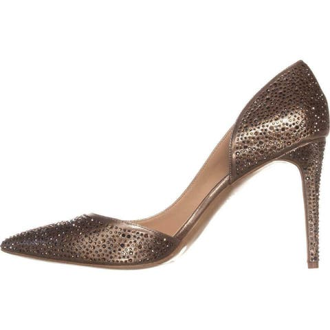 INC International Concepts Womens Kenjay4 Fabric Pointed Toe D-orsay Pumps