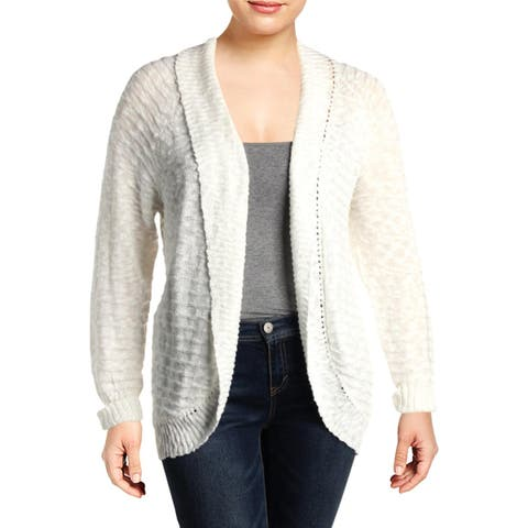 Roxy Womens BH3455302 Cardigan Sweater Open Front Lightweight