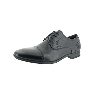 Kenneth Cole Reaction Mens DETER-MIN-ED Oxfords Cap Toe Lace-Up