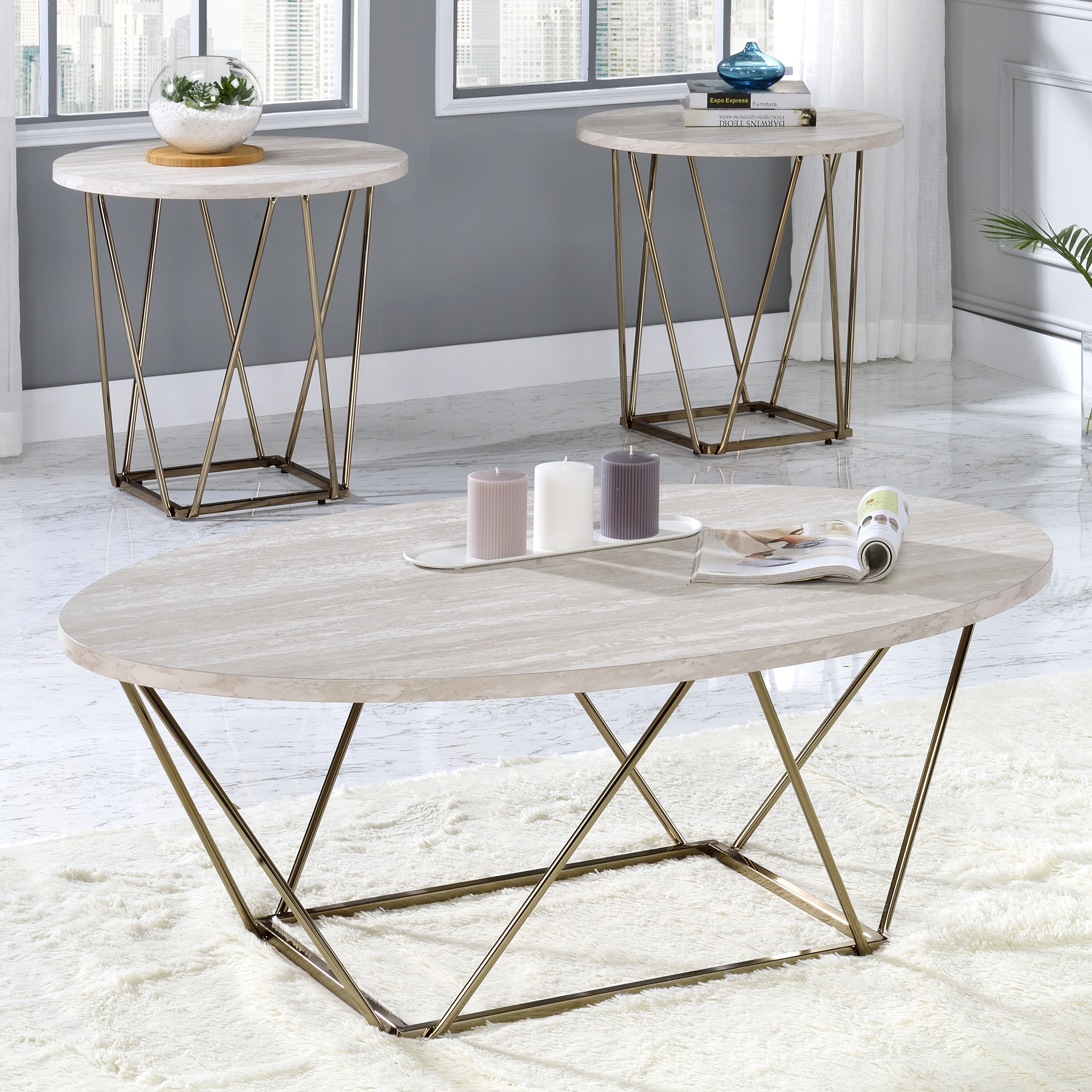Shop For Silver Orchid Ravine 3 Piece Occasional Table Set Get Free Shipping On Everything At Overstock Your Online Furniture Outlet Store Get 5 In Rewards With Club O 31473636
