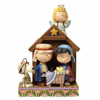 Peanuts(R) Christmas Pageant Nativity