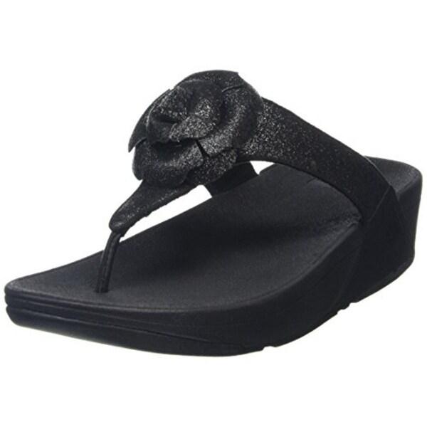 87caa1a0f92b Shop Fitflop Womens Glitterosa Flip-Flops Glitter Slip On - 8 medium ...