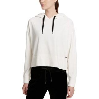 Calvin Klein Performance Womens Sweatshirt Velour Cropped