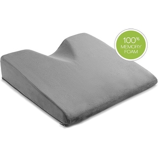 Link to ComfySure Car Seat Wedge Pillow - Memory Foam Firm Cushion-Pain Relief Similar Items in Medical Supplies