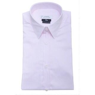 Versace Men City Fit Dress Shirt V300000 VC4009 V680 Pink