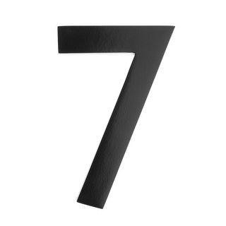 Architectural Mailboxes 3585-7 5 Inch Solid Cast Hand Finished Brass House Number '7' - N/A