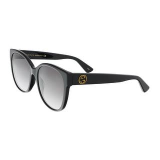 Gucci GG0097S 001 Black Round Sunglasses - 56-19-140|https://ak1.ostkcdn.com/images/products/is/images/direct/96f6b581d41b35ff38367c3594960c04c07c1a25/Gucci-GG0097S-001-Black-Round-Sunglasses.jpg?impolicy=medium