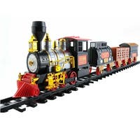 20-Piece Battery Operated Lighted & Animated Classics Train Set with Sound