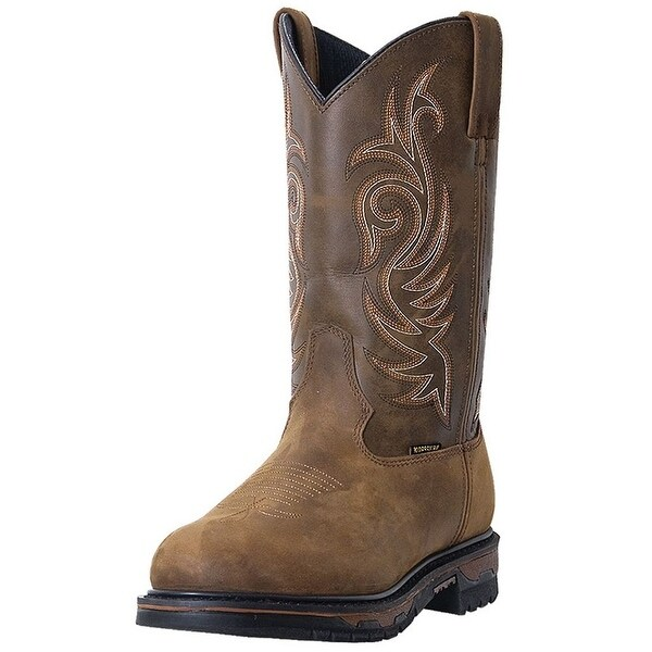 Laredo Work Boot Men Sullivan Waterproof Wellington Tan Cheyenne