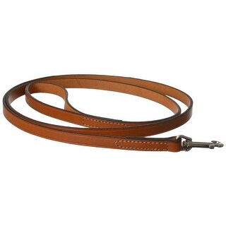 "Circle T Leather Lead - Oak Tanned 6' Long x 5/8"" Wide"