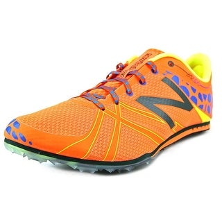 New Balance MMD500 Men Round Toe Synthetic Orange Cleats