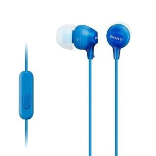 Sony Audio/Video - Mdr-Ex15ap/L - Ex Earbud Headset Blue